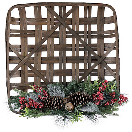 Red Shed Holiday Tobacco Basket
