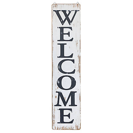 Red Shed Tall Welcome Sign, JFT17195A