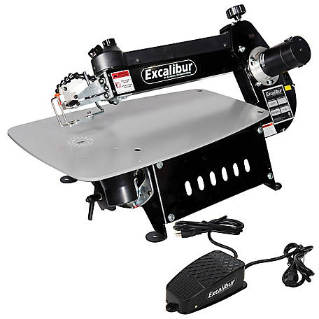 Excalibur 21 in. Tilting Head Scroll Saw with Foot Switch EX-21