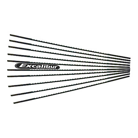 Excalibur 5 Pinless Scroll Saw Blades 10 Pack, EX-SSB10