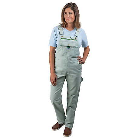 Liberty Women's Washed 8.3 oz. Duck Bib Overalls