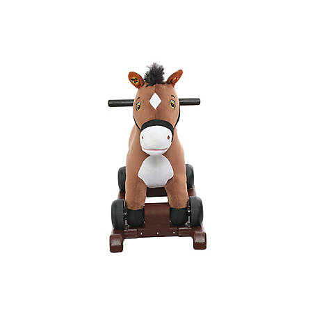 Rockin' Rider Chocolate 2-in-1 Pony, 5-20272