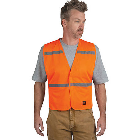 Walls Outdoor Goods Unisex Enhanced Visibility Mesh Safety Vest