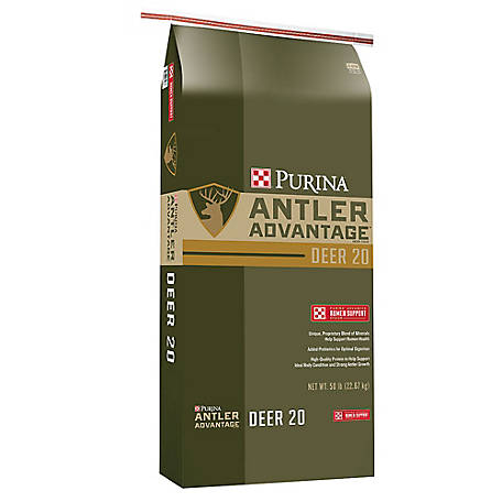 Purina Deer Antler Advantage Deer 20 ARS Feed, 50 lb, 3005413-206