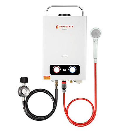 Camplux Enjoy Outdoor Life Pro Series 6 L 1.58 Outdoor Tankless Gas Water Heater, BD158
