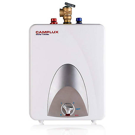 Camplux Enjoy Outdoor Life 2.5-Gallon Mini Tank Electric Water Heater, ME25