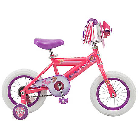Paw Patrol Girl's 12 in. Bicycle, Pink, R0259