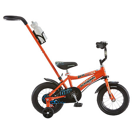 Schwinn Boy's Grit 12 in. Bicycle, Orange, S1292TR