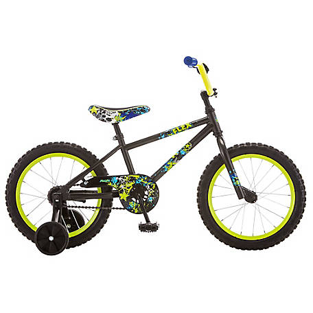 Pacific Boy's Flex 16 in. Bicycle, Grey, 164046PD