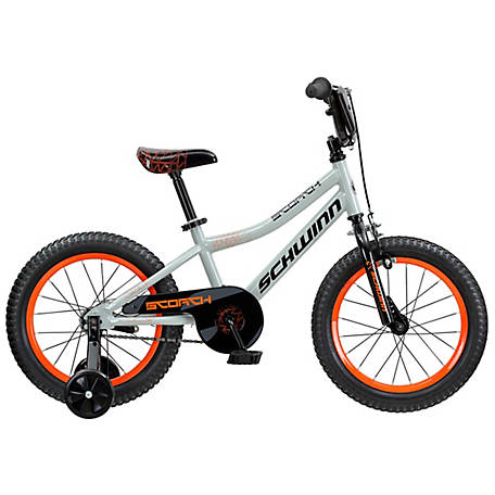Schwinn Boy's Scorch 16 in. Bicycle, Grey, S1680F