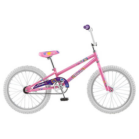Pacific Girl's Gleam 20 in. Bicycle, Pink, 201145PD