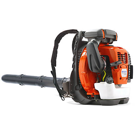 Husqvarna 570BTS 65.6cc 2-Cycle Gas 768 CFM 236.2 MPH Backpack Leaf Blower, 966629402