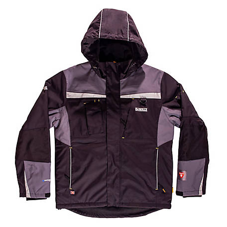 DeWALT Men's PrimaLoft Waterproof Jacket, DXWW50001-BLK-2XL