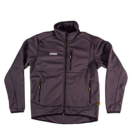 DeWALT Men's Grid Fleece Zip Jacke, DXWW50007
