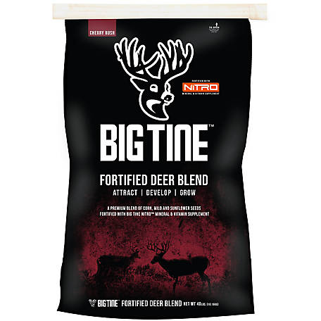 Big Tine 40 lb. Fortified Deer Blend, BT40