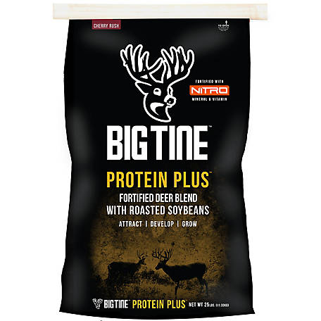 Big Tine Protein Plus, 25 lb., BT25