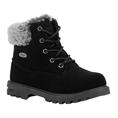Lugz Kid's Empire High-Top Fur Boot, PEMPHFD