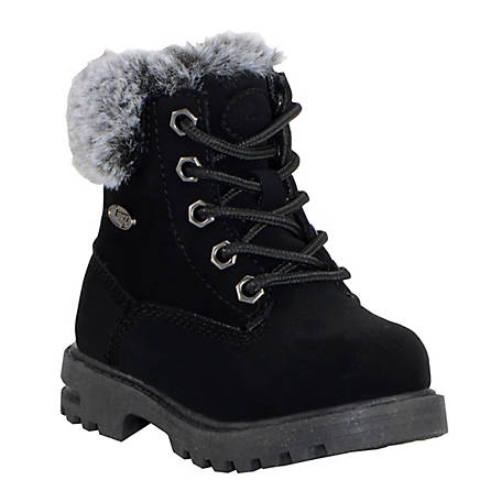Lugz Kid's Empire High-Top Fur Boot, TEMPHFD