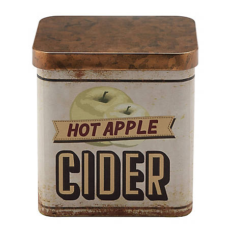 Red Shed Mulled Cider Candle in Lidded Tin