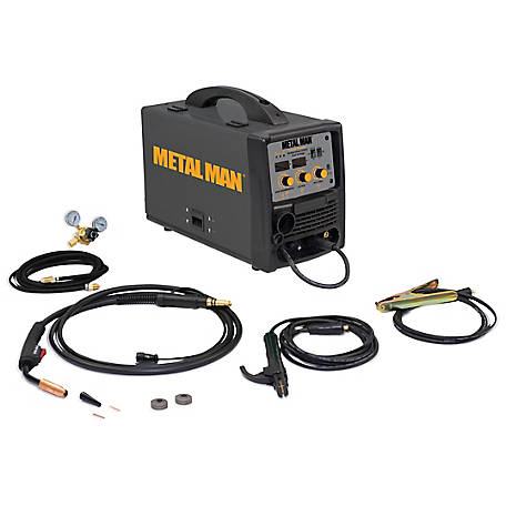 Metal Man Inverter Dual Voltage Multiprocess Welder, MMP220I DV