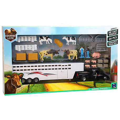 Country Life Cattle Trailer Mixed, SS-10915E