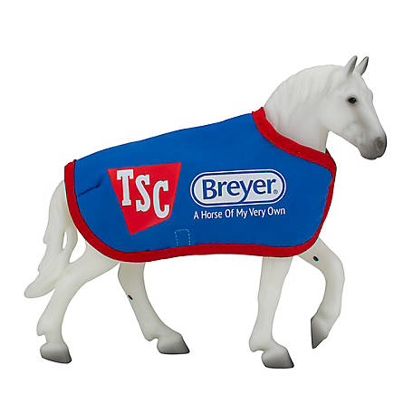 Breyer TSC Exclusive Freedom Series Grey Percheron with TSC Blanket, 5479