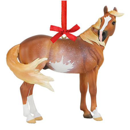 Breyer 2020 Holiday Ornament - Beautiful Breeds Mustang, 700521
