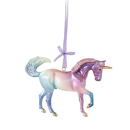 Breyer 2020 Holiday Unicorn Ornament, 700654