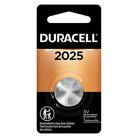 Duracell DL2025 3V Coin Cell, DL2025BPK
