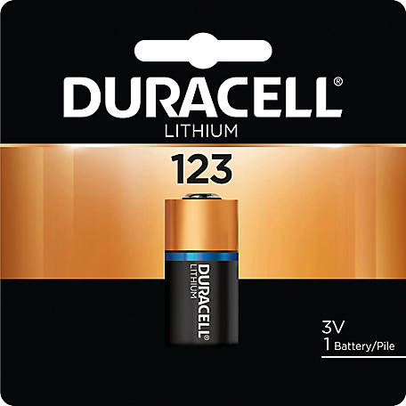 Duracell DL123 3V Lithium Photo Battery, DL123ABPK