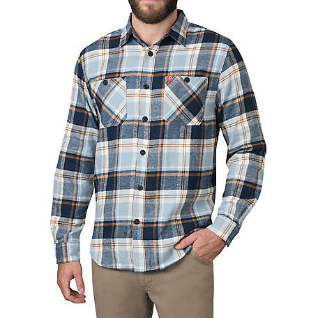 The American Outdoorsman Men's Flannel Shirt, ECOF9B2000