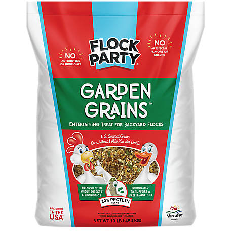 Flock Party Garden Grains, 10 lb., 1030588