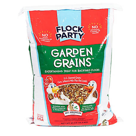 Flock Party Garden Grains, 25 lb., 1030589
