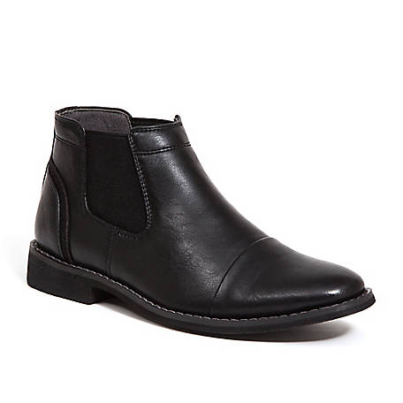 Deer Stags Boy's Marcus Dress Comfort Cap Toe Chelsea Boot