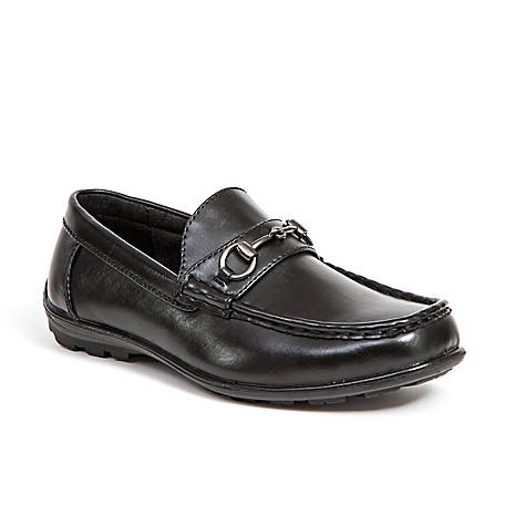 Deer Stags Boy's Latch Driving Moc Style Dress Comfort Loafer