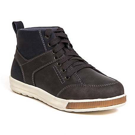 Deer Stags Boy's Landry Memory Foam Dress Casual Comfort High Top Sneaker Boot
