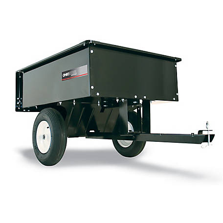 Ohio Steel Steel Dump Cart, 10 cu. ft./500 lb. Capacity, 3042HKD