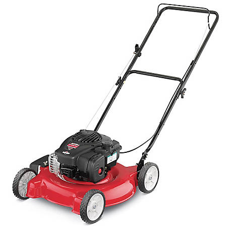 Yard Machines 20 in. 125CC OHV Gas Walk Behind Push Mower, 11A-02BT729