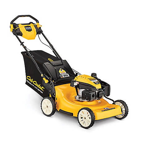 Cub Cadet SC900 23 in. 196 CC Engine with High Rear-Wheel Drive 3-in-1 Gas Self Propelled Walk Behind Lawn Mower, 12ABR2MM710