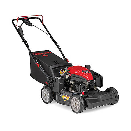 Troy-Bilt TB290 ES with Check Don't Change 159CC Engine, 21-in Self-Propelled Mower with Electric Start, and More, 12AGA2MT766