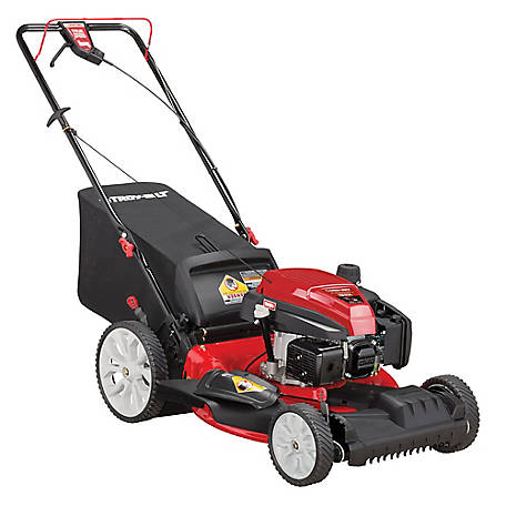 Troy-Bilt TB230 Check, Don't Change 159CC engine, 21 in. High Wheel Self-Propelled Mower with Front Wheel Drive, 12AVB2MR766