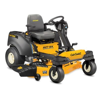 Cub Cadet RZT SX 54 in. Fabricated Deck 21.5 HP Kawasaki Gas Engine Dual-Hydro Zero Turn Lawn Mower with Steering Wheel Control