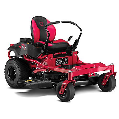 Troy-Bilt Mustang Z46 in. 679 cc V-Twin OHV Engine Gas Zero Turn Riding Mower with Dual Hydro Transmissions and Lap Bar Control
