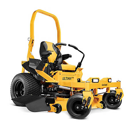Cub Cadet Ultima ZTX5 60 in. 24 HP Kawasaki V-Twin Dual Hydro Gas Zero Turn Mower with Roll Over Protection and Front Suspension