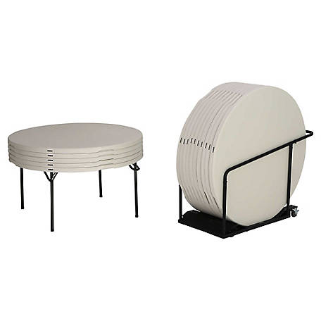 Lifetime 60 in. Tables and Cart Combo, 15 Pack, 80442
