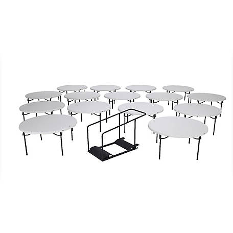 Lifetime 60 in. Tables and Cart Combo, 15 pk., 80441