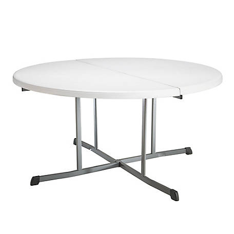 Lifetime 60 in. Round Fold-In-Half Table, 5402