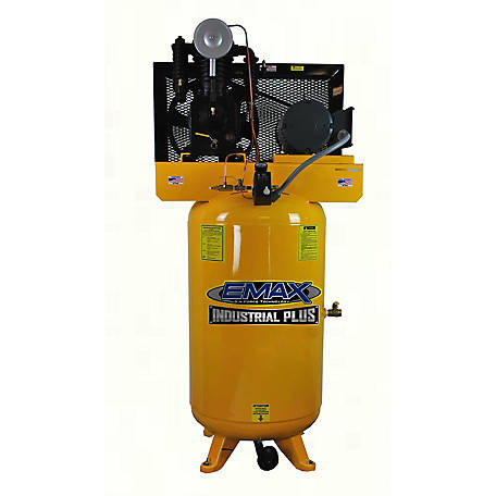 EMAX 5 HP 80 gal. Industrial Plus Air Compressor, EP05V080I1