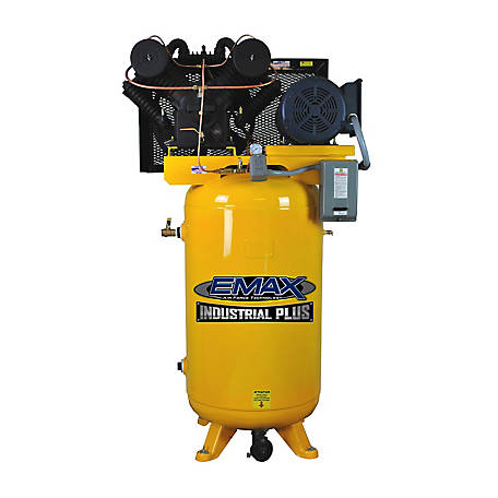 EMAX 7.5 HP 80 gal. 3 Phase Industrial Plus Compressor, EP07V080V3