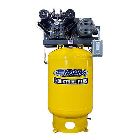 EMAX 10 HP 120 gal. 3 Phase Plus Vertical Compressor, EP10V120V3